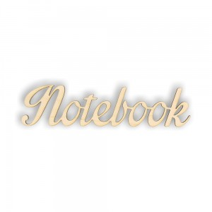 ND226 Napis NOTEBOOK