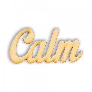 CALM - napis decoupage ND29-M