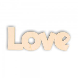 ND006 LOVE - decoupage