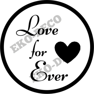 STE145 Stempel Love For Ever