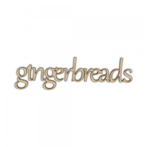 ND237 Napis GINGERBREADS