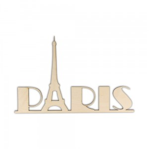 ND079 Napis PARIS