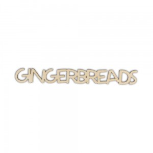 Napis GINGERBREADS - ND193-M